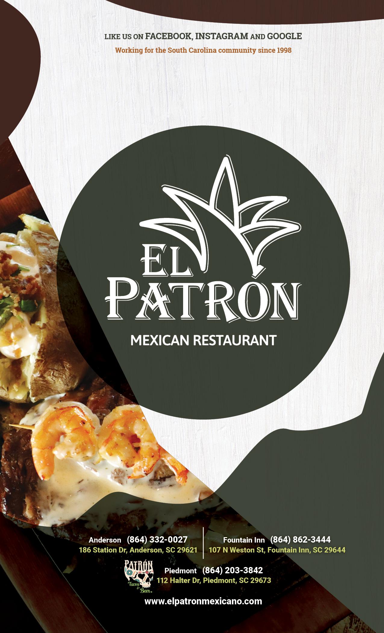 ElPatron-Foun:And-dinnermenu